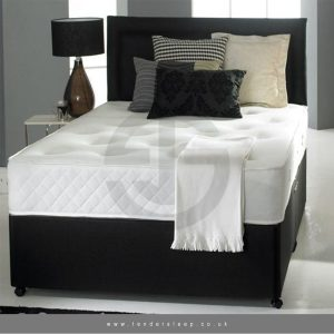 Divan Bed with Full Orthopaedic Mattress