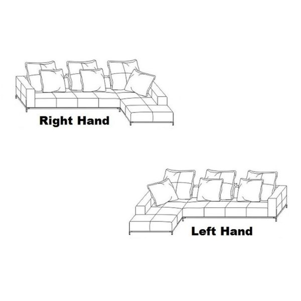 Dino Jumbo Cord Fabric Sofa, Specifications, Tender Sleep Furniture