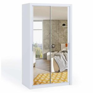 120cm Bonito Sliding Mirror Door Wardrobe