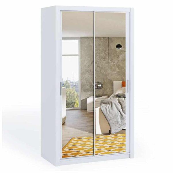 120cm Bonito Sliding Mirror Door Wardrobe