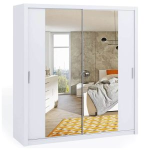 200cm Bonito Sliding Mirror Door Wardrobe