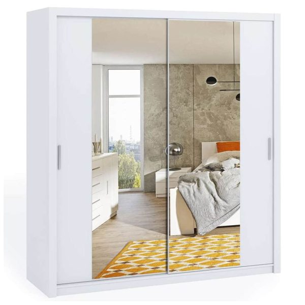 200cm Bonito Sliding Mirror Door Wardrobe