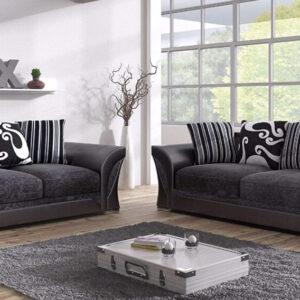 Farrow 3 and 2 Seater Fabric Sofa Set